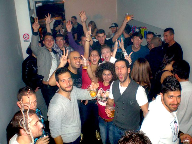 2nd Party at Our Salon 2010