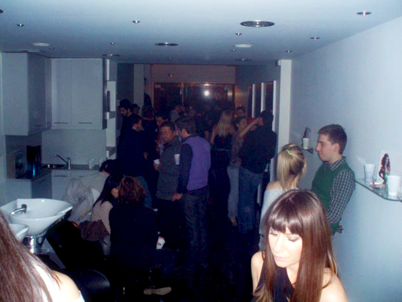 1st Party at Our Salon 2009